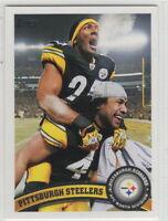 2011 Topps Football Pittsburgh Steelers Team Set