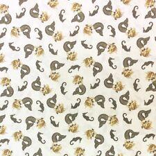 WI62 Mermaid Tail Ocean Sea Life Sailor Waves Sea Horse Cotton Quilt Fabric