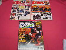 3  CYCLE WORLD MAGAZINES 1997 AERO 1100, ZX-7, YAMAHA TD1, KTM 200, V-STAR (Y111