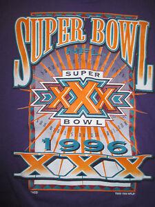 1996 SUPER BOWL XXX DALLAS COWBOYS vs PITTSBURGH STEELERS (LG) T-Shirt