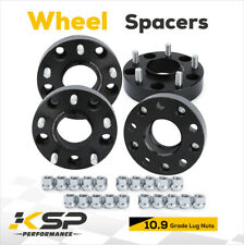 "1.5"" Wheel Spacers Hub Centric 5x5.5 5x139.7 with 14x1.5 Studs for 2015 Ram 1500"