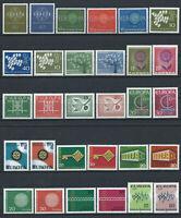 Allemagne - RFA Lot 30 Tp Neuf** (MNH) Europa Année 1959 à 72 complet (lot I)