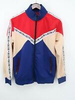 Rich Star Mens Red Spring Track Athletic Jacket Outerwear Plus L