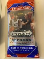 2020-21 Panini Prizm Draft Picks Basketball Cello Pack Sealed15 Cards Lamelo Rc?