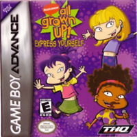 Gameboy Advance Game GBA SP DS DSL ~ RUGRATS ALL GROWN UP: EXPRESS YOURSELF