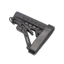 Commercial 6 Position Butt Stock With QD Attachment Sling Swivel&BUTTPAD US SELL