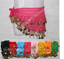 LOT 10 CEINTURES danse orientale ENFANT belly dance hip scarf ventre deguisement