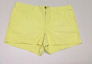 Women's Gap Bright Yellow Shorts, Size 10R