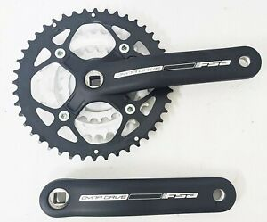 FSA Dyna Drive 3 x 9 Speed Chainset 44T 32t 22t 170mm Black MTB Crankset Square