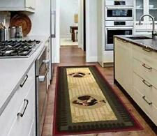Ottomanson Siesta Collection Kitchen Rooster Design Washable Non-slip Runner Rug