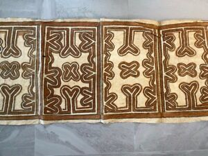 Tapa Cloth from PNG. Vintage piece.