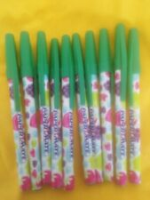 Wholesale Job lot box 10 X GREEN APPLE SCENTED  PAPERMATE PENS