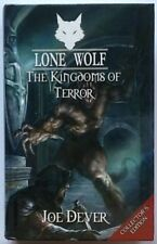 Lone Wolf-Joe Dever-no 6 les royaumes de la terreur-collectors éd. ** signé **