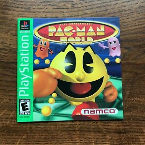 Pac Man World Pacman PS1 Playstation 1 PS One Instruction Manual Only