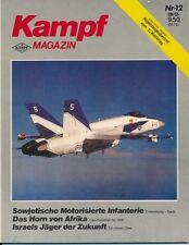 Kampf Magazin Born in Battle Sowjet Infanterie Horn von Afrika IAF Lavi Konzept