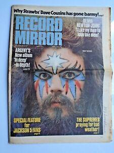RECORD MIRROR March 3rd 1973 Wizzard Strawbs Beach Boys Magna Carta Argent