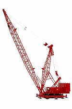 TWH Manitowoc 4100W Ringer Crane w/Boom Extension and Jib Kit 1/50 O scale MIB