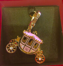 2013 JUICY COUTURE PRINCESS CARRIAGE CHARM (RETIRED) YJRU2486