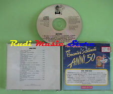 CD ROMANTICI SCATENATI 50 46A MON DIEU compilation 1994 PIAF FERRE BREL (C27*)
