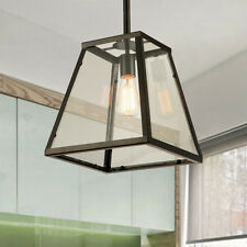 Flush Mount Ceiling Lights Kitchen Pendant Light Black Lamp Chandelier Lighting