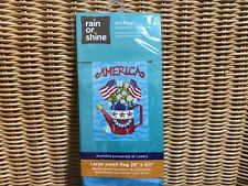 America ~ Watering Can Large Flag