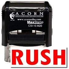 MaxStamp - Self-Inking Rush Stamp (Black Ink)