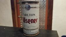rare vintage carlton pilsener  beer tin  can