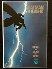 Batman The Dark knight returns #1 2 3 4 first printing 9.8 NM