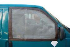 Qualità Tedesca Cabina Finestra Zanzariere per VW T4 con magneti Brown C9073