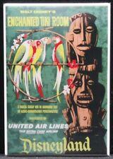 """Disneyland Enchanted Tiki Room Travel Poster 2"""" X 3"""" Fridge Magnet."""