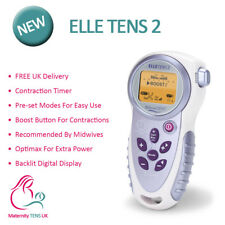 Elle TENS2 with Contraction Timer & Opti-Max Technology - Maternity TENS Machine