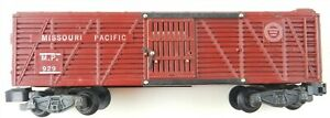 American Flyer S #929 MP Missouri Pacific STOCK CAR Livestock ~Painted~ T128F