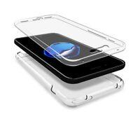 Coque housse intégrale RIGIDE transparent 360 pour Iphone 5 5S 5SE