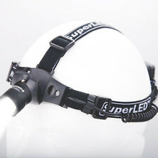 SuperLED™ 3w CREE ALLOY HEAD TORCH HEADLIGHT WITH ZOOM