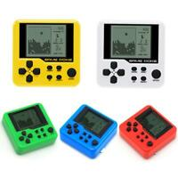 Portable Mini Electronic Pets Game Machine Tetris Brick Game Keychain Toys