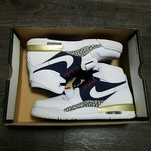 NIKE Air Jordan Legacy 312 GS Olympic Shoes Youth 6.5Y Womens 8 AT4040 101