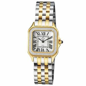Gv2 By Gevril Women's 12103B Milan Diamond Two-Tone Stainless Steel Watch