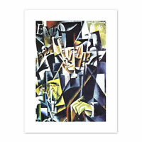 Popova Portrait Philosopher Painting Canvas Wall Art Print