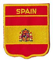 Patche Espagne Spain fanion blason écusson drapeau patch thermocollant