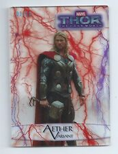2013 Thor the Dark World Aether Variant RED 01/10  VERY RARE 11 AV FIRST PRINTED