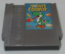 Nintendo NES Yoshi's Cookie Cartridge Game WORKING