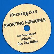 Remington Sporting Firearms Field Service Manual, Volume1 Rim Fire Rifles CD-ROM