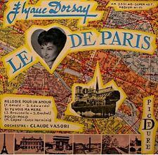 ++ELYANE DORSAY le coeur de paris/melodie pour un amour/poco poco VASORI EP EX++