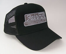 Fairmont Railway Motors Builder Plate Putt Putt Cap Hat 40-7000BM