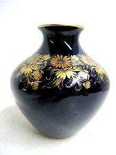 Ornate Vintage C.M. Hutschenreuther Echt Kobalt Blue & Gold Vase Numbered c 1970