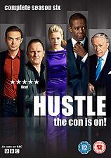Hustle - Series 6 (DVD, 2011, 2-Disc Set)  FREE POST IN UK