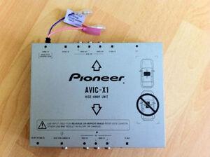 Pioneer AVIC-X1 AVIC-X1BT AVIC-X1R Hide-Away Unit Blackbox Headawayunit 1 Jahr