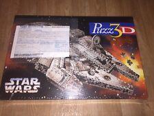 PUZZ 3D STAR WARS 857 MILLENIUM FALCON Foam Puzzle Milton Bradley Imported New