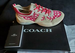COACH Signature CitySole  Mesh Runners Sneakers Shoes G4972
