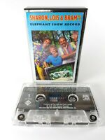Vintage - 1986 - Sharon, Lois & Bram's - Elephant Show Record - Cassette Tape